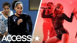 Taylor Swift & Tracee Ellis Ross Slay Opening Performances At 2018 American Music Awards