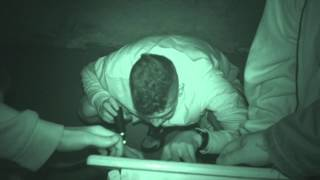 Fort Borstal ghost hunt - 18th July 2015 - Guests Table tilting