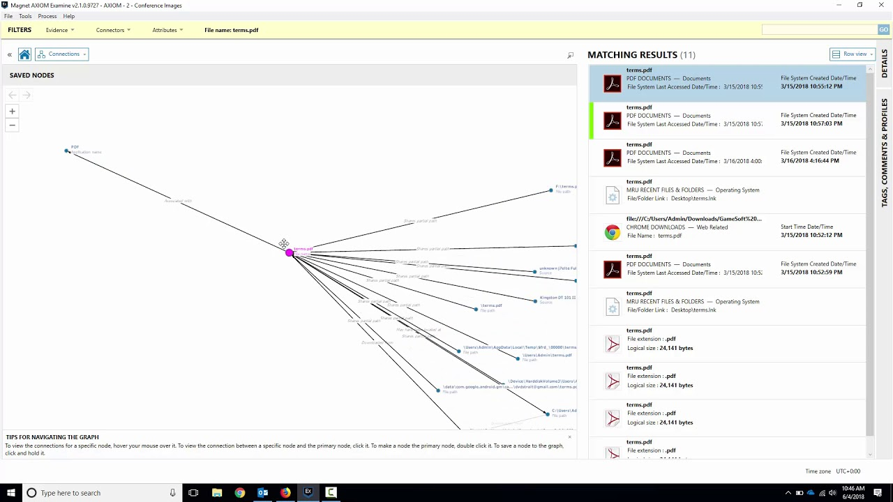 Getting Started with Magnet AXIOM Examine - Connections