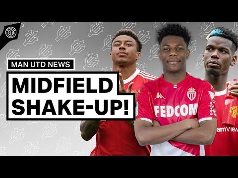 Manchester United's Midfield Shake-up!   Man United Transfer News