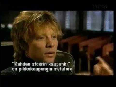 Bon Jovi interview 2000