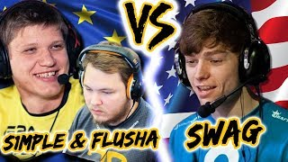 RANK-S W/ S1mple and Flusha!