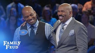 Nesha and Dre DOUBLE UP! | Family Feud