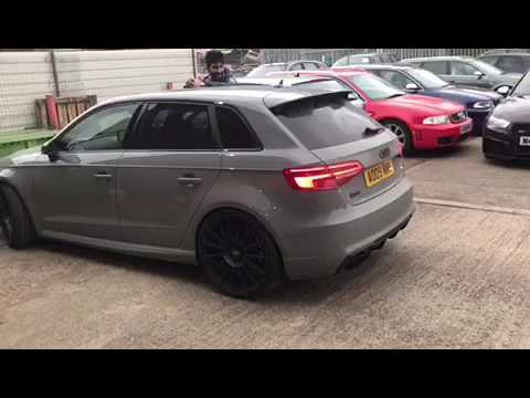 2016 Audi RS3 SPITTING FLAMES (600+bhp) MRC TUNED