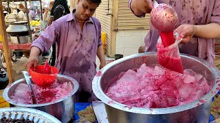 FALSA SHARBAT | Refreshing Summer Drink | Street Drink Phalsa Juice in Karachi Pakistan