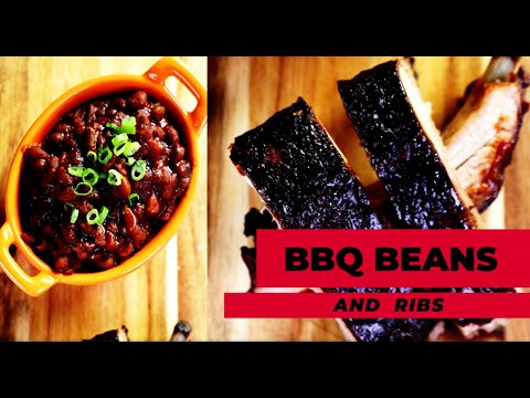 Chef Spencer Watts - BBQ'D Beans and Ribs