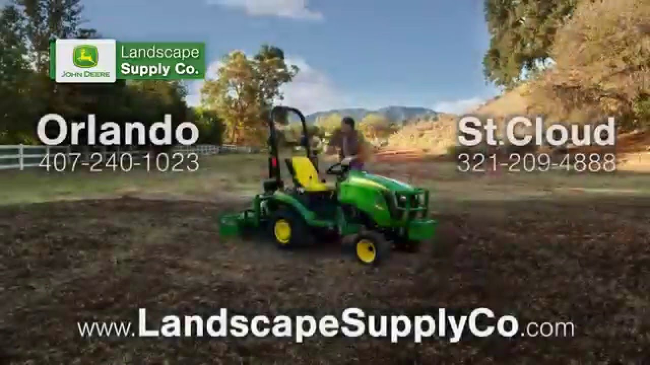 John Deere At Landscape Supply Co Less Work More