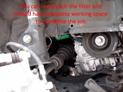 2003 Honda Civic Fuel Filter Location Diy Oil Change For 8th Gen Honda Civic Si Youtube