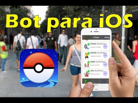 Bot Pokemon Go para iOS / AppStore