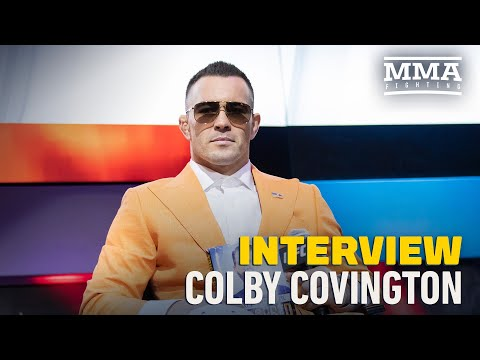 Colby Covington 'Praying' For Chance to 'Retire' Tyron Woodley - MMA Fighting