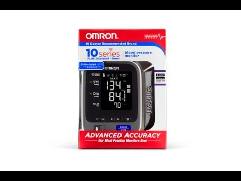 Omron 10 Series Wireless Upper Arm Blood Pressure Monitor , Bluetooth  -  No Comment