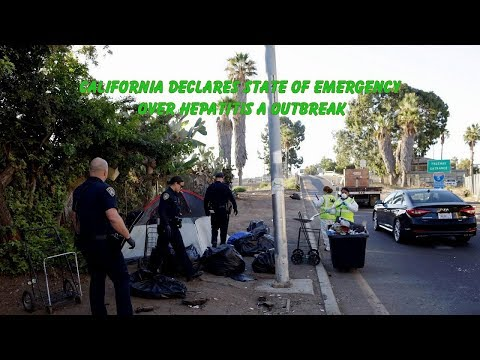 California declares state of emergency over hepatitis A outbreak | Health News Today