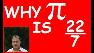 Why Pi is 22/7