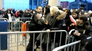 Einlass in Esch sur Alzette - Tokio Hotel Konzert am 22.02.10