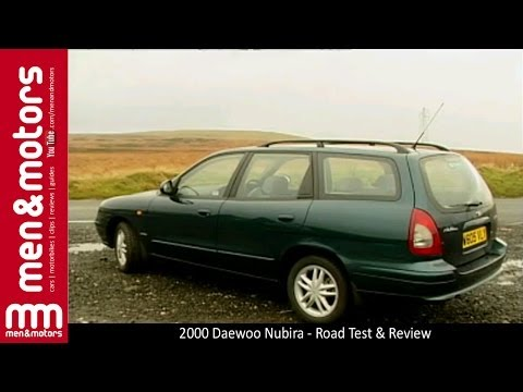 2000 Daewoo Nubira - Road Test & Review
