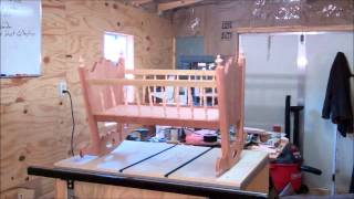Building A Rocking Baby Cradle Part Two