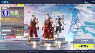Sgt. Winter Skin Gameplay on Fortnite (Ho Ho Ho)