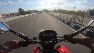 DOMINAR 250 Top Speed - Will it go 160kmph? - GoPro -