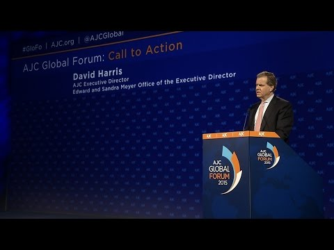AJC Global Forum: David Harris Call to Action