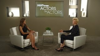 Hilary Swank & Tilda Swinton at the Variety Studio: Actors on Actors presented by Samsung Galaxy