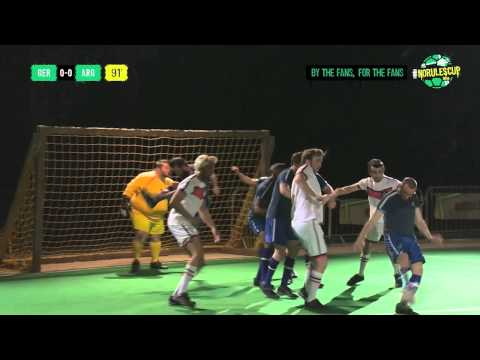 Germany v Argentina #NoRulesCup Full Highlights