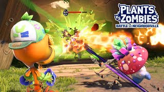 New Forest Cap Peashooter - Plants vs Zombies Battle for Neighborville - Gameplay Part 70