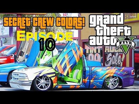 gta 5 how to make a crew colour