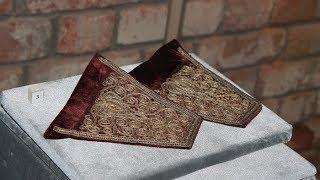 Единственным украшением свадебного платья крымской татарки были манжеты