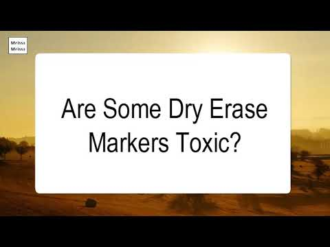 are-some-dry-erase-markers-toxic