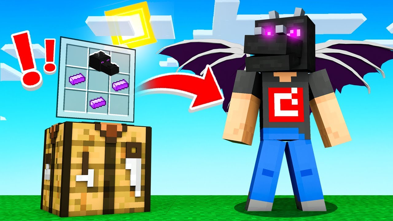 Crafting Ender Dragon Armor In Minecraft Youtube How to get dragon armor in hypixel skyblock. crafting ender dragon armor in minecraft