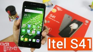 Itel S41 Unboxing and Hands On review in HINDI [Price, Specs, Camera and Features]