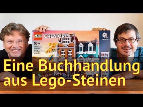Literatur und Lego: Wir bauen eine Buchhandlung #10270