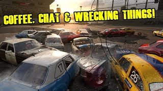 COFFEE, CHAT & WRECKFEST! | Playing Wreckfest | 7.7.2018 🤓🖖☕ [REPLAY]