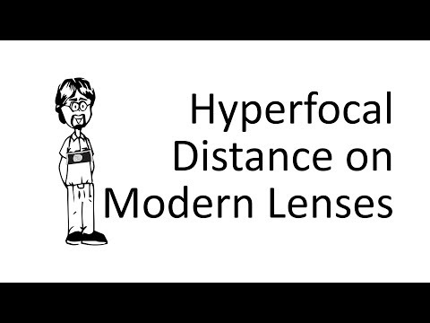 Do Modern Lenses have Hyperfocal Distances?
