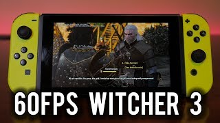 Witcher 3 can hit 60fps on Nintendo Switch | MVG