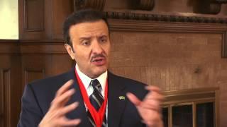 Chancellor's Medal Awarded to Prince Sultan bin Salman