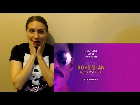 Bohemian Rhapsody Official Trailer Reaction