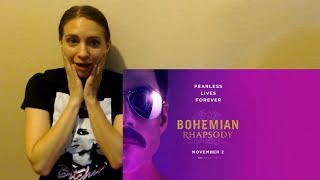 Bohemian Rhapsody Official Trailer Reaction