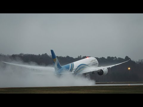 Frankfurt Airport Planespotting January 2018