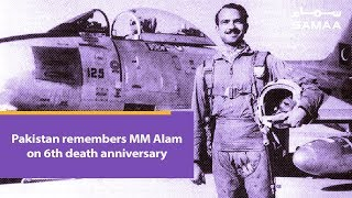 Pakistan remembers MM Alam on 6th death anniversary | SAMAA TV | 18 March 2019