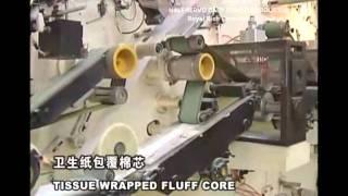 видео Производство памперсов, подгузников: Оборудование и цены