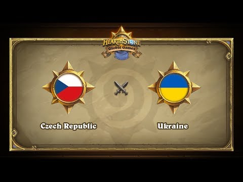 Чехия vs Украина | Czech Republic vs Ukraine | Hearthstone Global Games (24.05.2017)