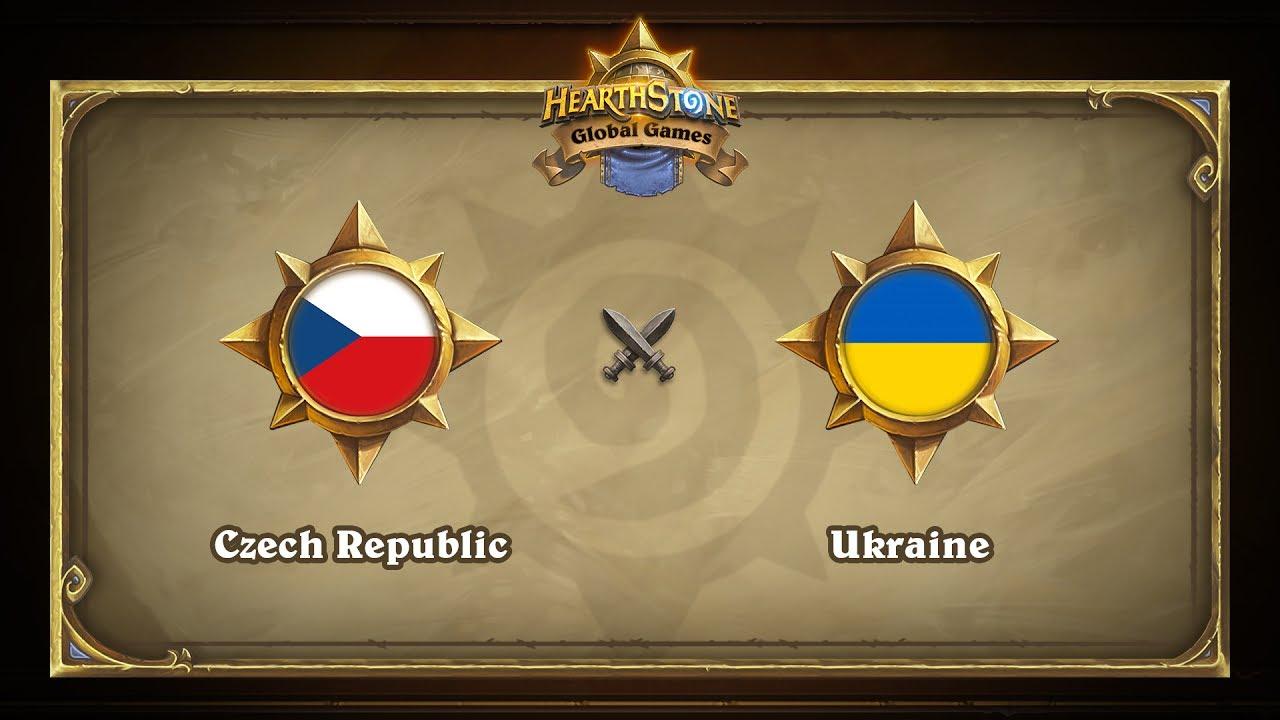 Чехия vs Украина | Czech Republic vs Ukraine | Hearthstone Global Games (24.05.2017)
