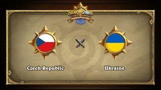 Чехия vs Украина | Czech Republic vs Ukraine | Hearthstone Global Games