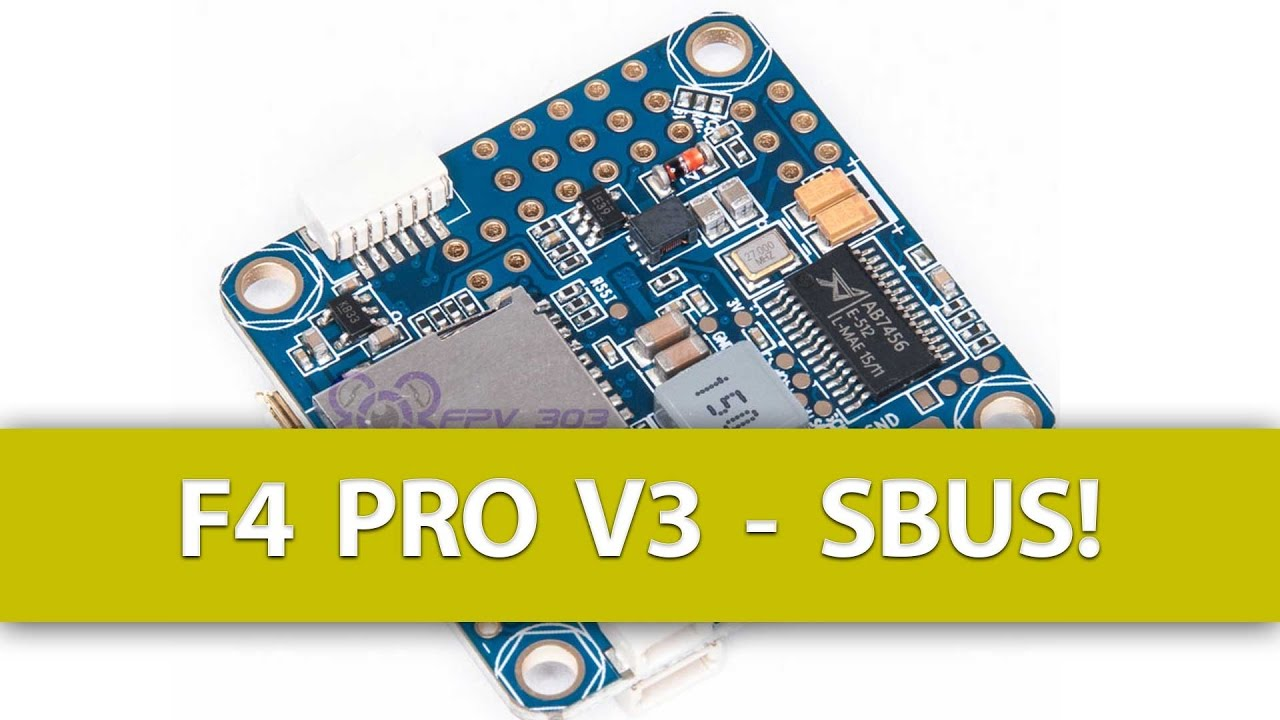 FIXED: SBUS Not Working on a Omnibus F4 Pro V3 Flight Controller?