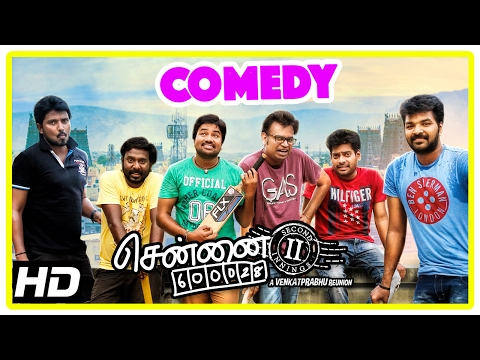 Chennai 600028 II Movie | Comedy Part 1 | Shiva | Premji | V