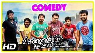 Chennai 600028 II Movie | Comedy Part 1 | Shiva | Premji | Vaibhav | Vijay Vasanth | Nithin