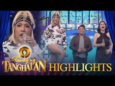 Tawag ng Tanghalan: Vice answers people complaining about his very short pants