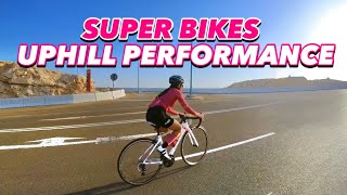 SUPER BIKES UPHILL PERFORMANCE | using INSTA360 ONE INCH MODE | by Gaye Paris