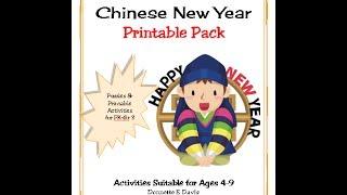 Chinese New Year Junior Printable Pack